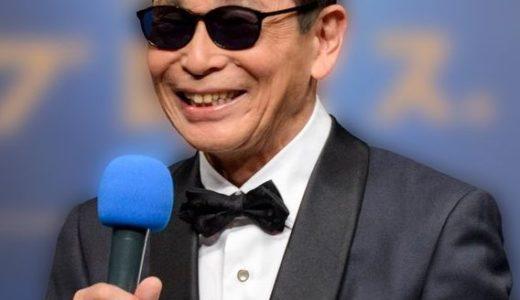 タモリが義眼になった理由!右目が失明して常にサングラス着用?